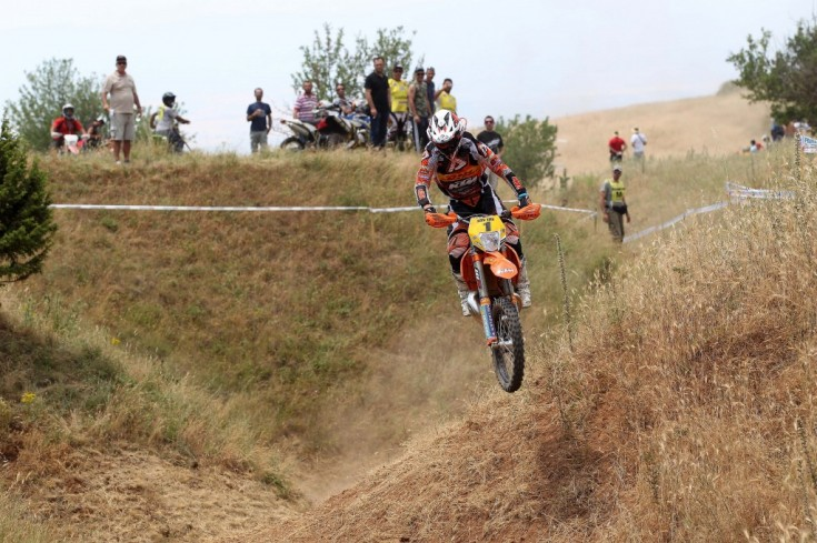 Christophe Nambotin (F) πάνω στο KTM 300 EXC