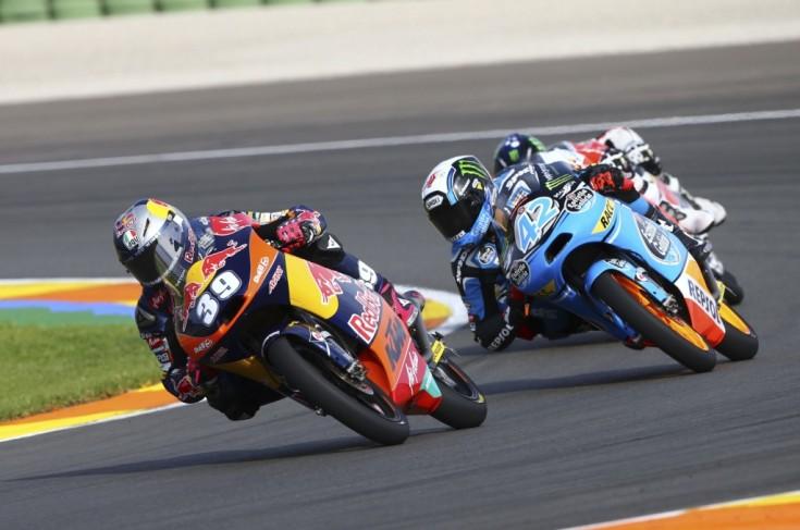 Salom, Moto3 race, Valencia MotoGP 2013