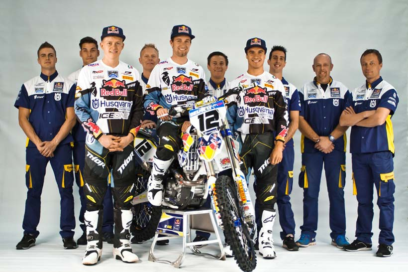 Red Bull IceOne Husqvarna Factory Racing Team