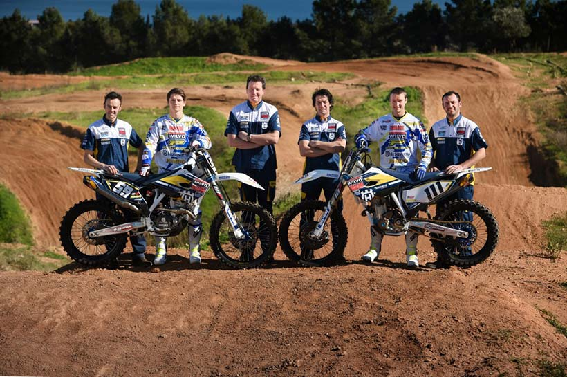 Wilvo Nestaan Husqvarna Factory Racing Team