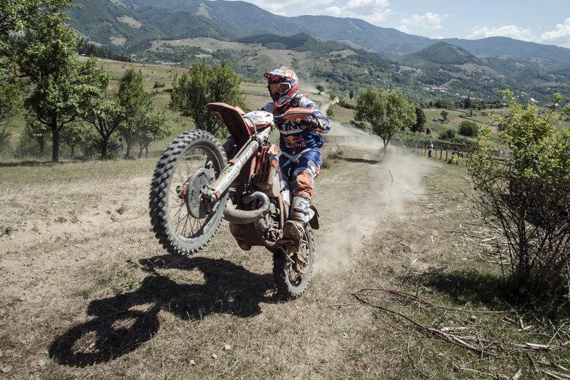 Easy rider: ο ασταμάτητος Andreas Lettenbichler© Andrei Mosloc/Red Bull Content Pool