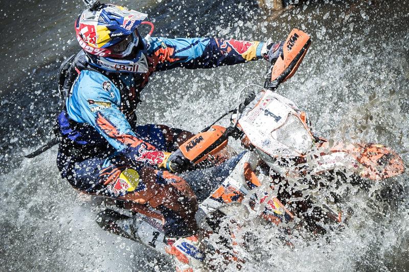 Ο Jonny Walker αγωνίζεται στο Red Bull Romaniacs© Predrag Vuckovic/Red Bull Content Pool