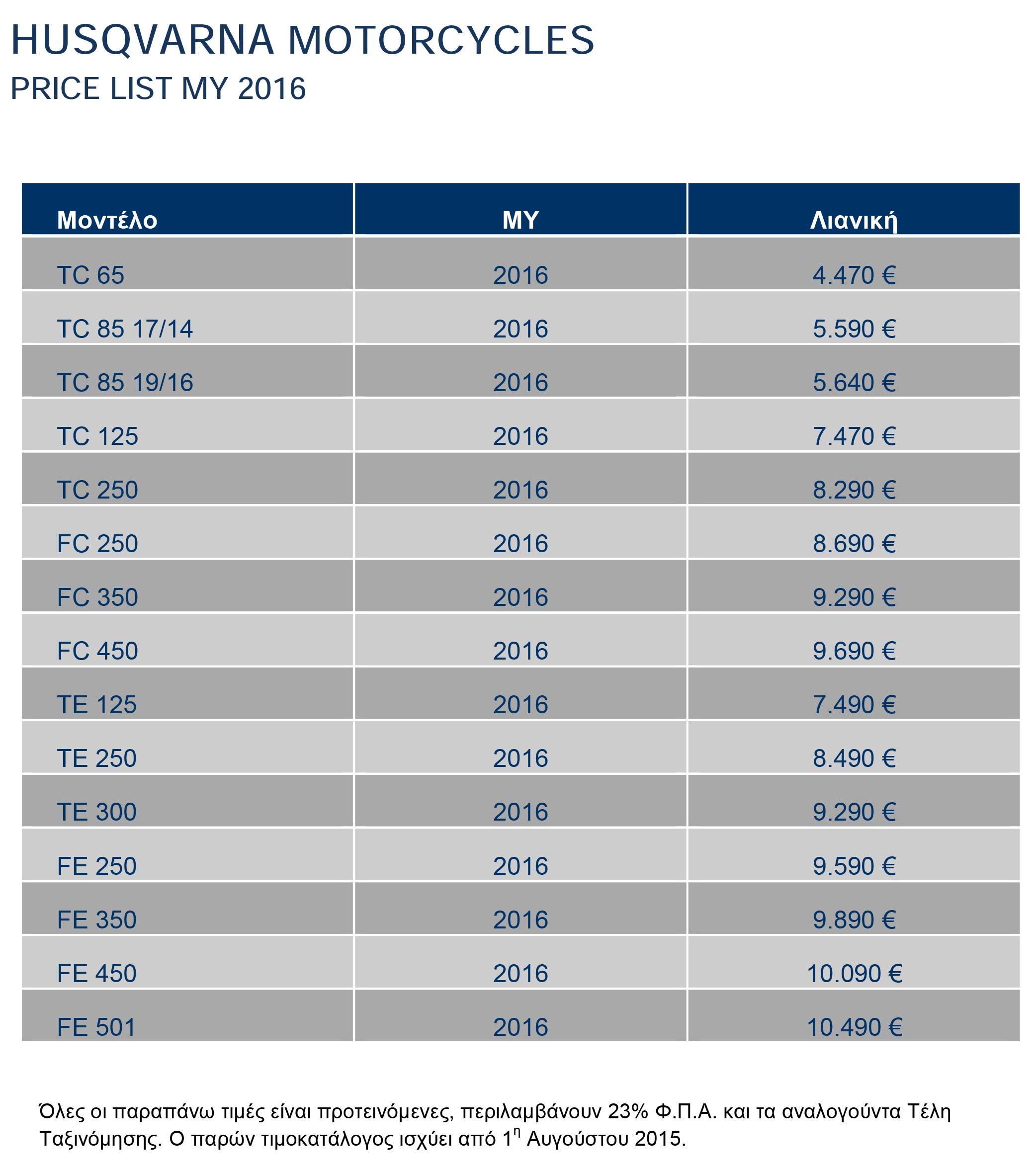 HSQ_Motorcycles_Retail-Pricelist_2016