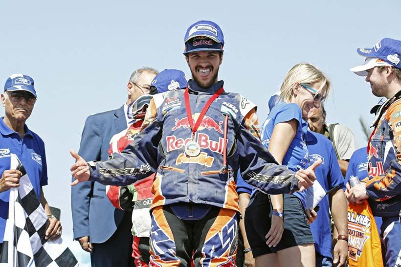 Ο Sam Sunderland από τη Μεγάλη Βρετανία παίρνει τη νίκη στο Rally OiLibya du Maroc 2015