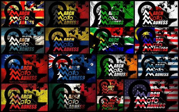 Σε 16 χώρες διοργανώνεται το March Moto Madness μεταξύ των οποίων και η Ελλάδα