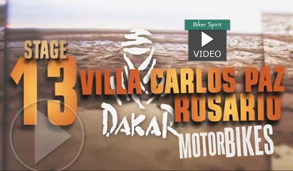 Video – Stage 13: Villa Carlos Paz – Rozario Dakar 2016 – Price ο Νικητης του Dakar