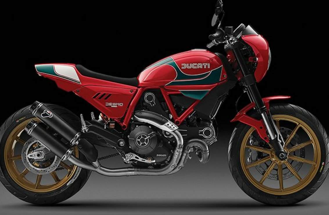 Ducati Scrambler Mike Hailwood SE  1