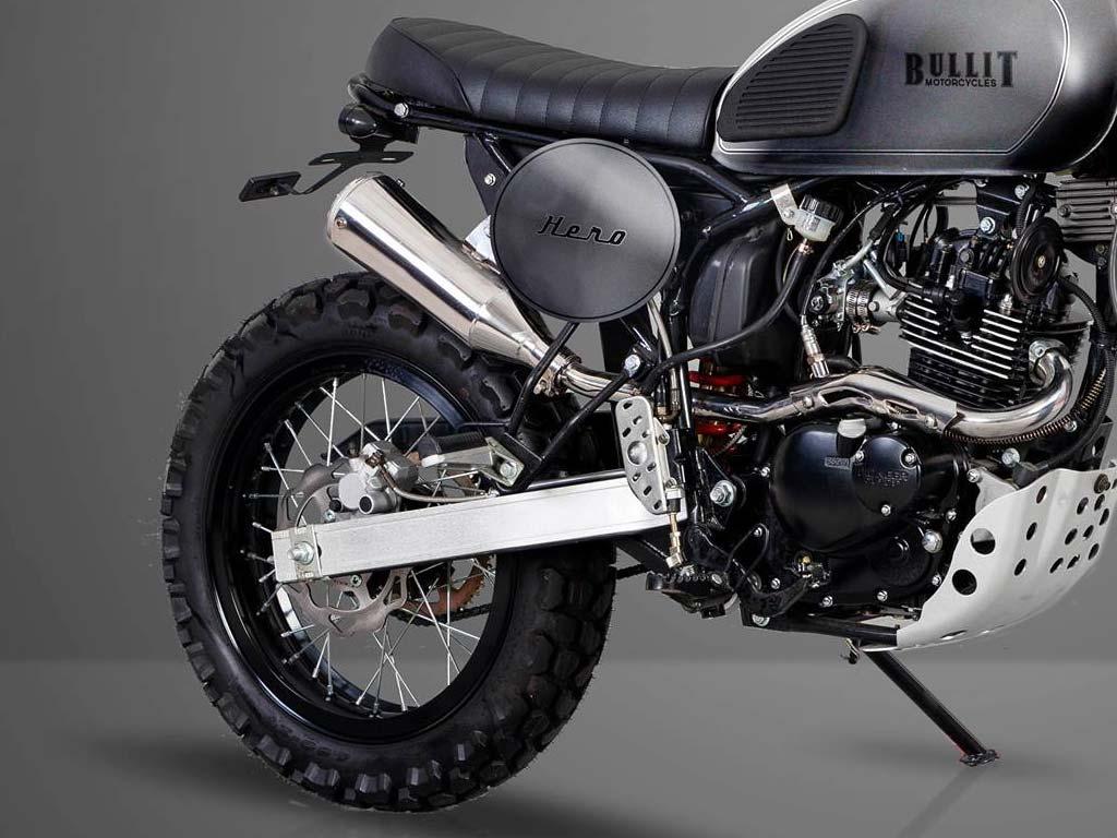 scrambler bullit hero 125 2017 biker spirit magazine. Black Bedroom Furniture Sets. Home Design Ideas