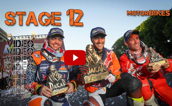 Video – Stage 12 – Στιγμιότυπα της τελευταίας ημέρας του Dakar 2017