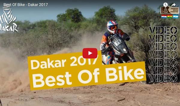 Video – Οι καλύτερες στιγμές του Dakar 2017 – Moto & Quad