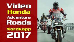 Video: Honda Adventure Roads – Nordkapp 2017
