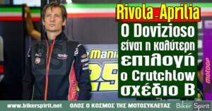 "Massimo Rivola – Aprilia: ""Ο Dovizioso είναι η καλύτερη επιλογή, ο Crutchlow σχέδιο Β"""
