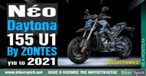 Νέο Daytona – 155 U1 By ZONTES για το 2021 – Παρουσίαση – Φωτογραφίες